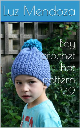 Boy crochet hat pattern 149 - Kindle edition by Luz Mendoza. Arts ... d67113f98f2