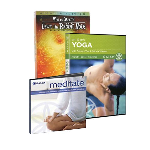 Amazon.com: Gaiam Reflection Media DVD & CD Kit Yoga ...