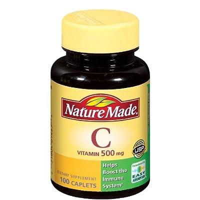 Nature Made Vitamin C Tablet 100-pk. - 500 mg.