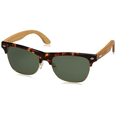 HÄRVIST Clubmix Gafas de Sol, Carey/Bambú Natural, 57 Unisex: Ropa y accesorios