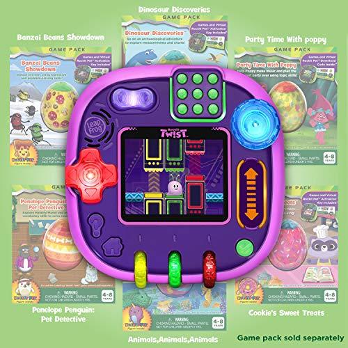 51nbHwAf7HL - LeapFrog RockIt Twist Handheld Learning Game System, Purple