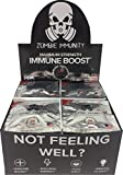 Zombie Immunity 24-Hr Boost Pack (48 Pack Box) - With Probiotics and Vitamin D3 - Effective Within Hours - Dr. Hennen's Transfer Factor Supplement
