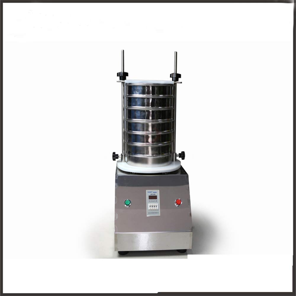 110V Vibrating Sieve Machine for Granule/Powder/Grain, Electric Lab Shaker New by INTBUYING
