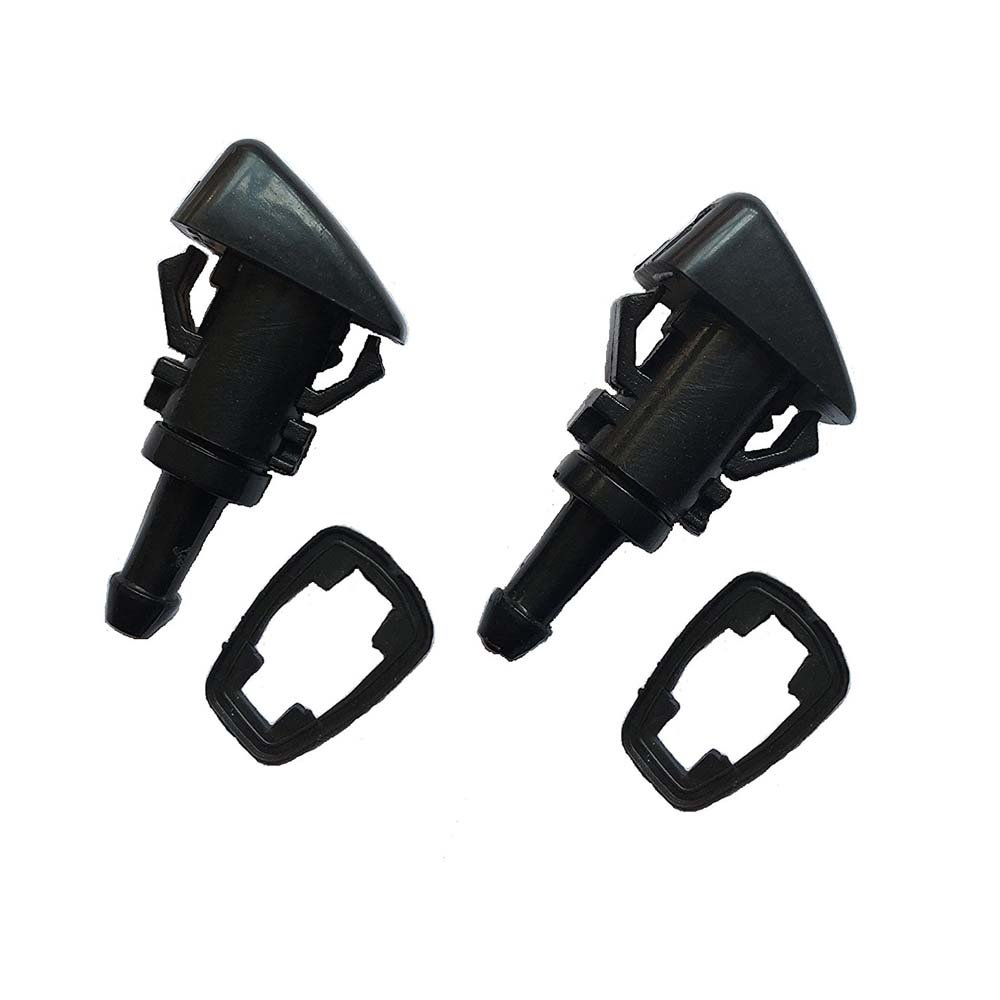 2pcs Windshield Washer Nozzle Jet Front 5303833AA fit 2007-2010 Jeep Compass Caliber Patriot Allymoto AM023-1