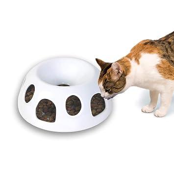 Pioneer Mascota Tigre el Diner - Alimentos de cerámica/Cuenco, Blanco: Amazon.es: Productos para mascotas