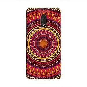 Cover It Up - Orange Ceiling Nokia 6Hard Case