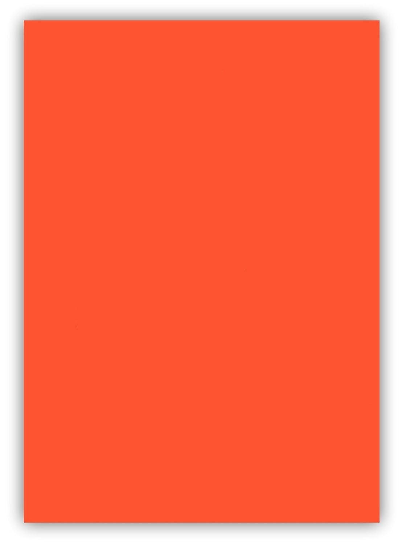 25 Blatt farbiges Premium Briefpapier Caribic DIN A3 Papier-Farbe Inka Orange