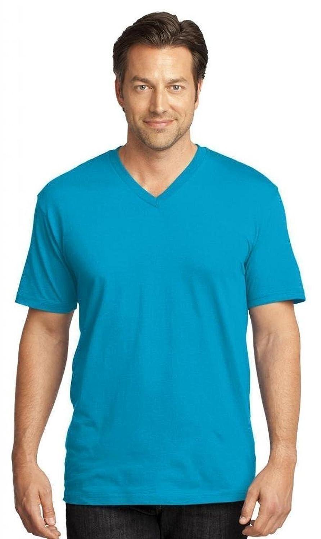 District Threads Men's V-Neck Tee Shirt