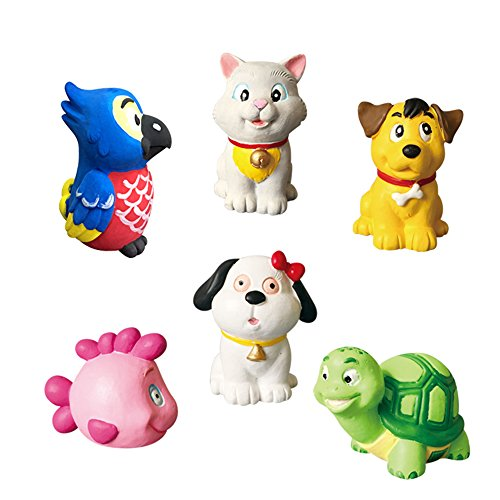 (Hilou Paint Your Own Animal Figurines (bird,cat,dog,fish and tortoise))