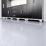 VersaRoll Pro 8 ft. x 20 ft. PVC Garage-Flooring