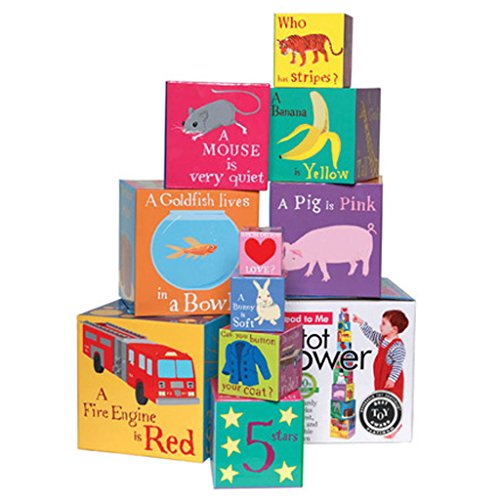 eeBoo Read to Me Nesting and Stacking Blocks Toddler ()