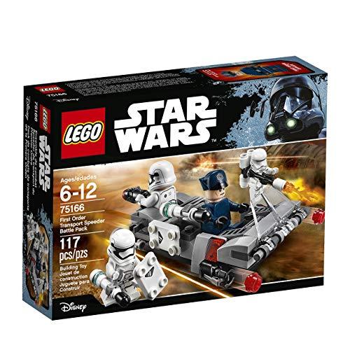 LEGO Star Wars First Order Transport Speeder Battle Pack 75166 Building Kit (Packs Star Weapon Wars Lego)