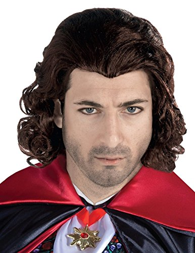 Forum Novelties Men's Wig-The Count-Black Party Supplies, Standard]()
