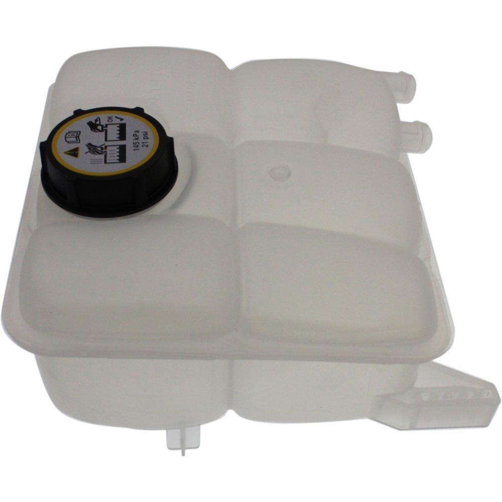 Coolant Reservoir Expansion Tank compatible with Ford Focus 12-16 Overflow Reservoir Non-Turbo Eng w/Cap Plastic