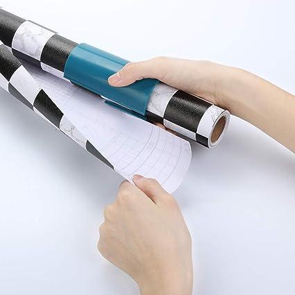 Mini Schiebe-Geschenkpapier Cutter Weihnachten Craft Sekunden Wrap Paper Tool
