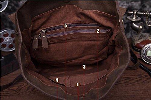DJB/Leder Die Man Tasche Retro Rucksack Europa Leder Rucksack