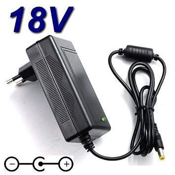 Adaptador de corriente cargador para 18 V Altavoces para PC ...