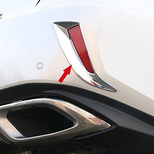 Fit for Lexus New RX350 RX450H 2016 2017 2018 Chrome Rear Fog Light Cover Trims Chrome Lexus Rear Lights