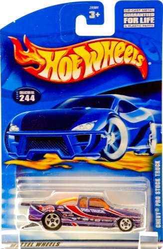 (Hot Wheels Chevy Pro Stock Truck #244 Year: 2000)