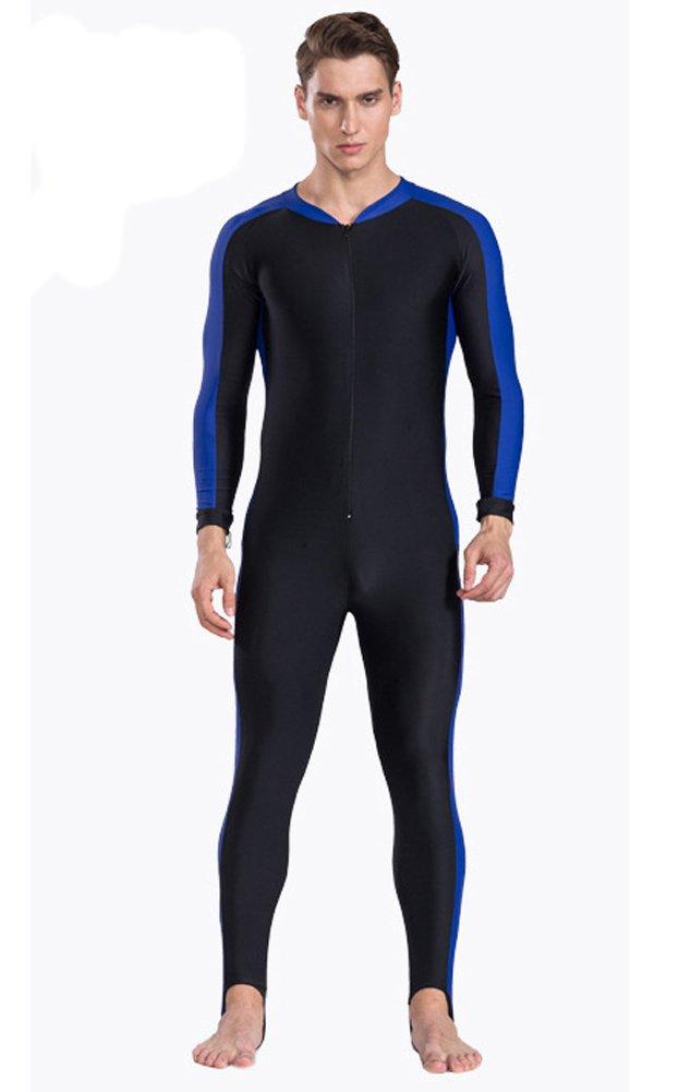 Fortunings JDS/® Unisex Einteiler Langarm Badeanz/üge Ganzk/örper-Badeanzug Surf-Anz/üge