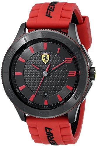 Price comparison product image Ferrari Men's 830136 Scuderia XX Watch with Red Band