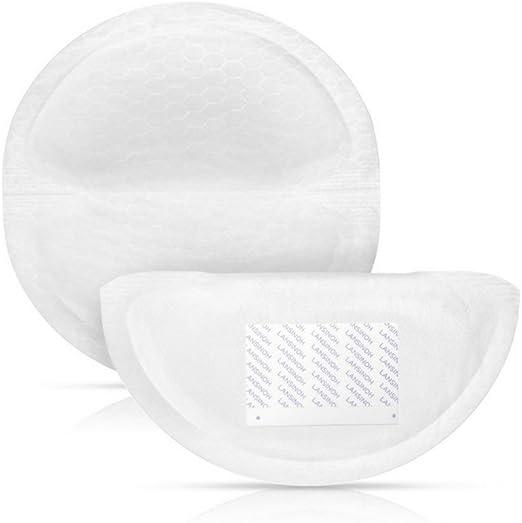 Almohadillas de Lactancia Pack 30 Littlebloom Almohadillas de Lactancia Desechables con Absorbencia S/úper Suave Micro-Fibra de Nido de Abeja para una Protecci/ón Continua