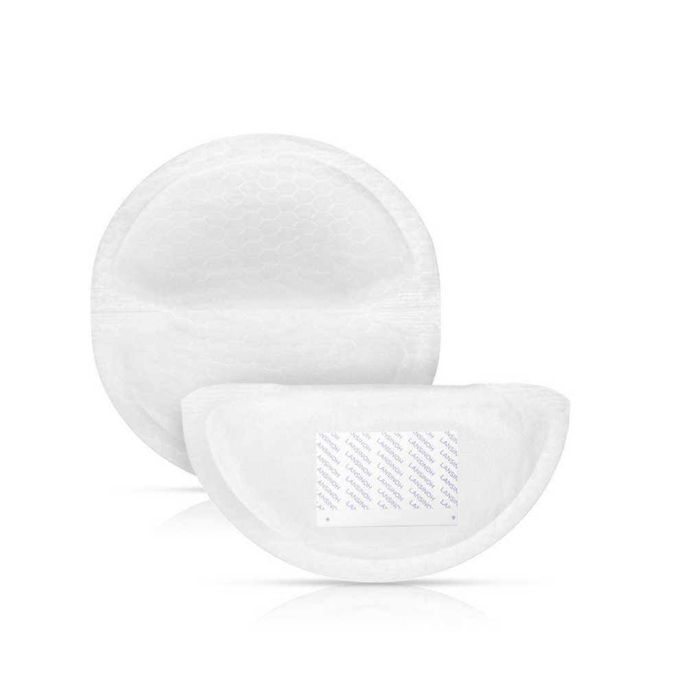 Lansinoh Nursing Pads, 4 Packs of 60 (240 count) Stay Dry Disposable Breast Pads