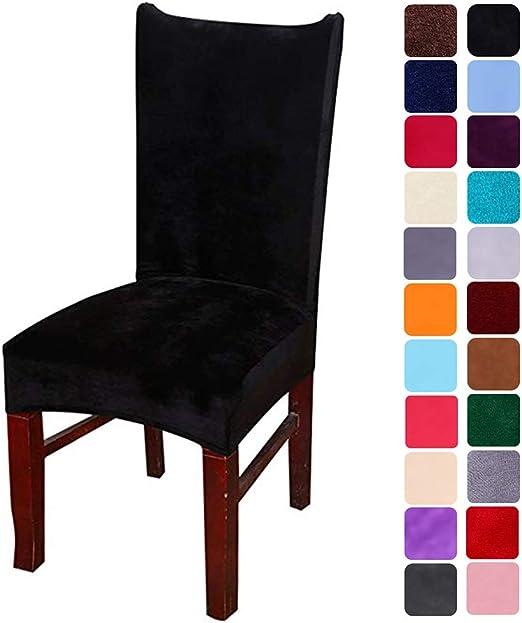 Stuhlschutz Stuhlhussen Stuhlabdeckung Husse Spannbezug für Esszimmerstühle