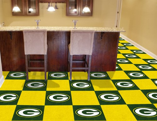 NFL - Green Bay Packers Carpet Tiles by Fanmats