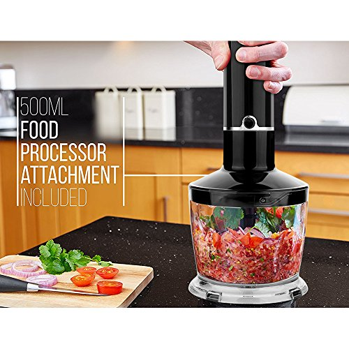 OXA-Powerful-4-in-1-Hand-Blender-300-W-Black
