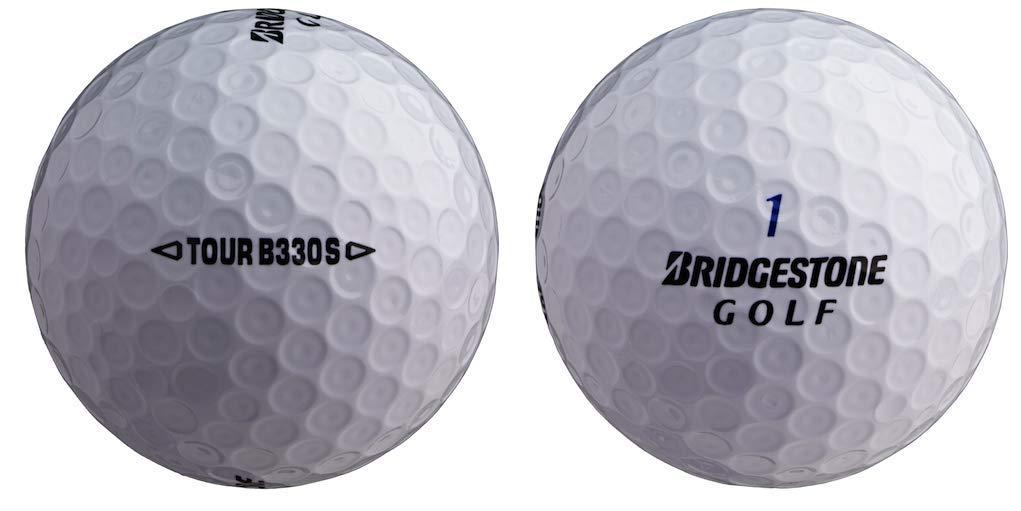 ゴルフボールキング – ブリヂストンB330S B 2018ミントリサイクル中古ゴルフボール 24個パック B07KCH8H3N