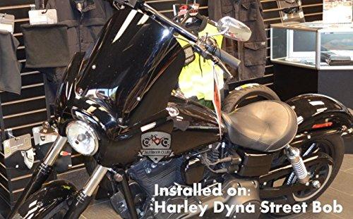 CBC Gloss Black TSport Front Fairing Outer Club Style for Harley-Davidson Dyna Street Bob FXR or Sportster T-Sport