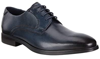a9f636d95bb ECCO Men's Melbourne Tie Oxford, Denim Blue, 45 M EU (11-11.5