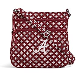 NCAA Alabama Crimson Tide Women's Triple Zip Hipster, Cardinal/White, One Size