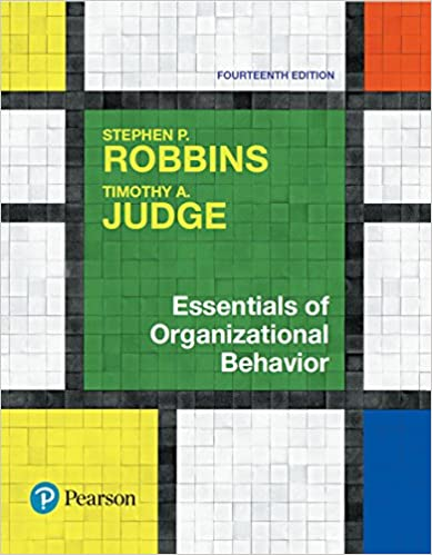 essentials of organizational behavior global edition 14th edition pdf