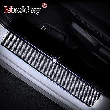 Placa de umbral para puerta de coche para VW Jetta Passat Polo Golf Tiguan Touareg Sharan