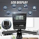 ANCHEER-Bici-da-Fitness-con-Resistenza-Magnetica-a-8-Livelli-Cyclette-Orizzontale-Magnetico-con-Display-LCDSupporto-per-TabletSensori-di-pulsazioniSedile-Regolabile-con-Schienale-Max110-kg