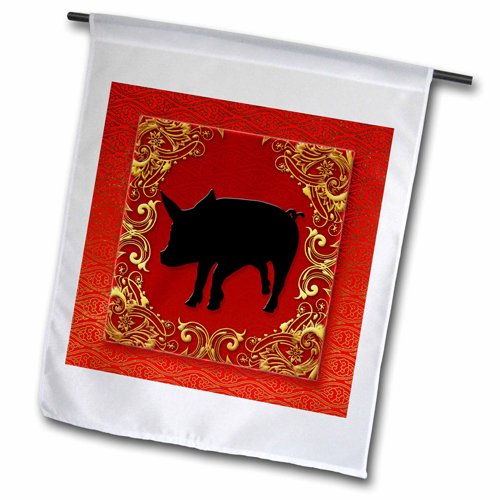 3dRose Chinese Zodiac Year of The Pig