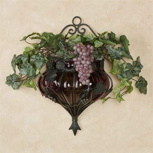 - Tuscania Wall Vase Accent Multi Warm