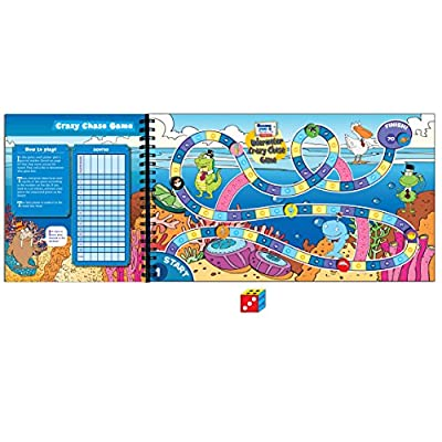 T.S. Shure Oceans Seas and Marine Life Activity Book: Toys & Games