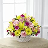 Basket of Cheer Bouquet - Fresh Flowers Hand Delivered in Albuquerque Area