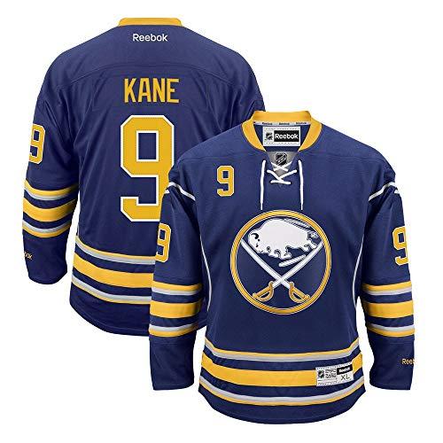 Reebok Evander Kane Buffalo Sabres NHL Navy Blue Official Premier Home Jersey for Men (L)