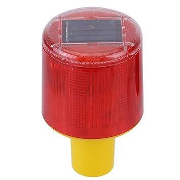 Advertencia de Emergencia Lámpara de Destello Solar LED ...