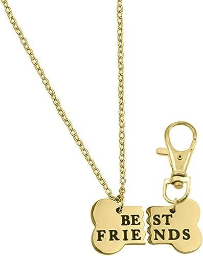 Pet Jewelry Dog Jewelry Dog Bone necklace Dog bone Gold bone necklace Animal gift idea