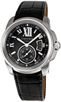 Cartier Men's W7100041 Calibre de Cartier Leather Strap Watch from Cornerwind Media