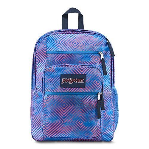 JanSport Unisex Big Student Oversized Backpack Optical Clouds