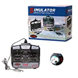 Kingzer New 6CH USB 3D RC Helicopter Airplane Flight Simulator 6 Channel