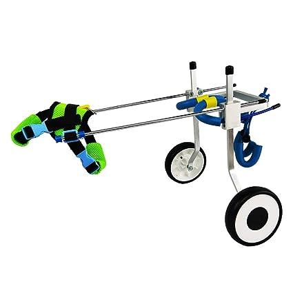 Silla de ruedas para mascotas, Hind Leg Power Silla de ruedas para sillas de ruedas, ...