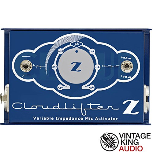 Cloud Microphones CL-Z Cloudlifter 1-channel Mic Activator w/Variable Impedence by Cloud Microphones
