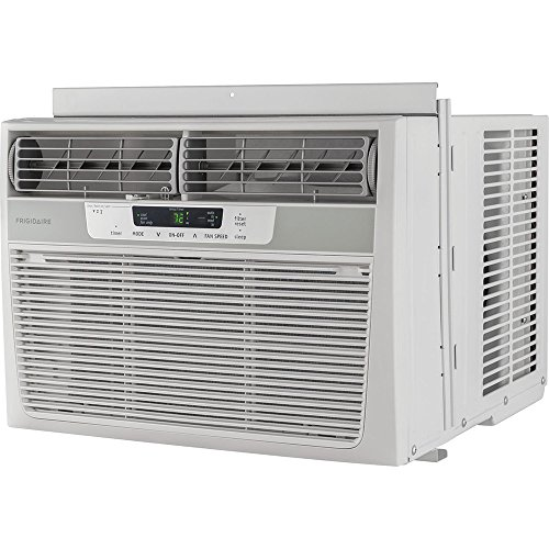 FRIGIDAIRE Compact Air Conditioner - Cooler - 3516.85 W Cooling Capacity - 550 Sq. ft. Coverage - Yes - Antibacterial Mesh - Remote Control - White